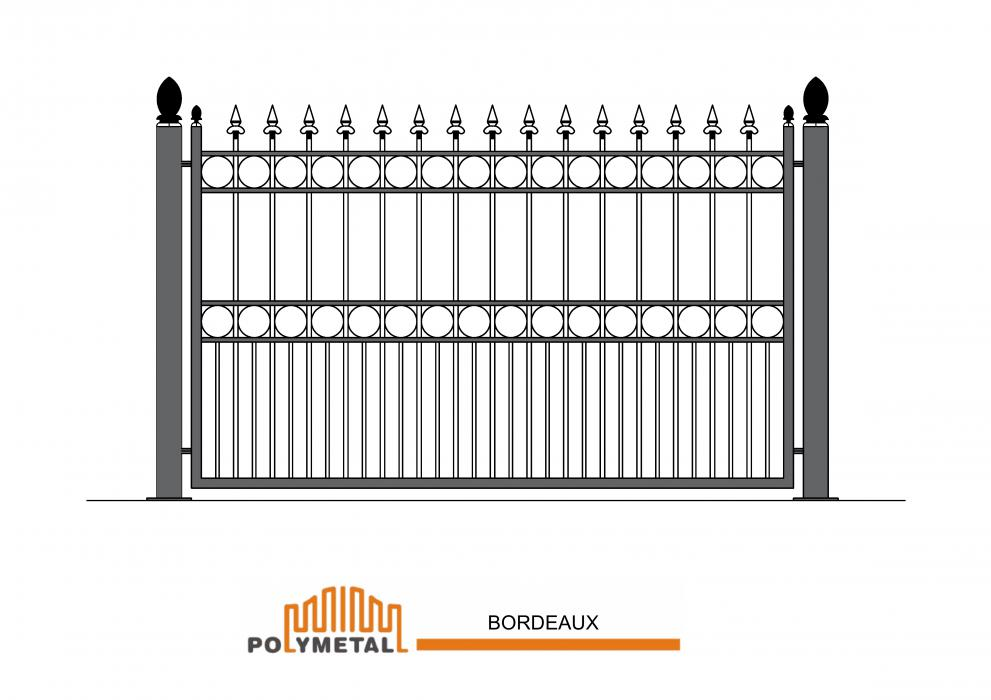 FENCE BORDEAUX