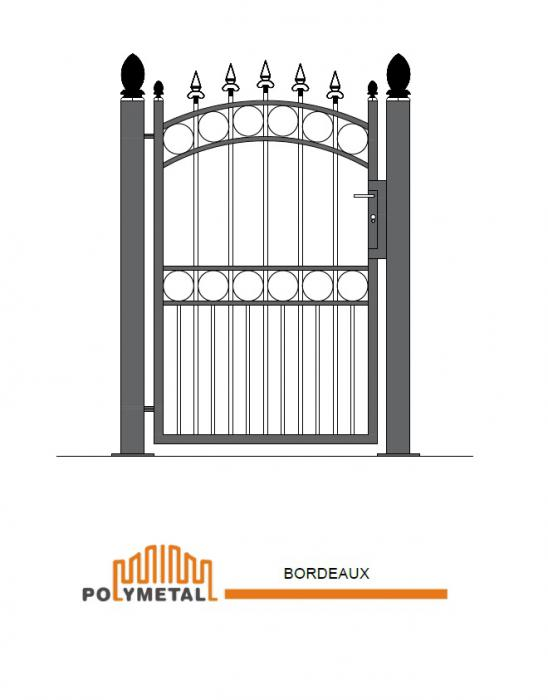SINGLE GATE BORDEAUX