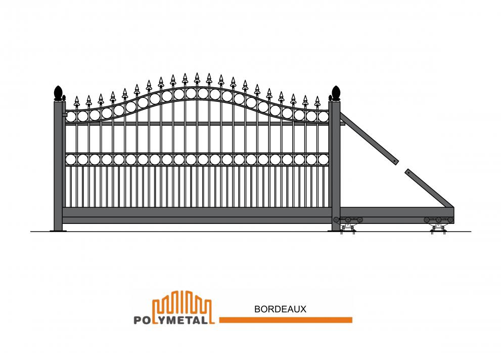 CANTILEVER GATE BORDEAUX