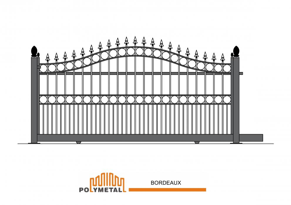 SLIDING GATE BORDEAUX