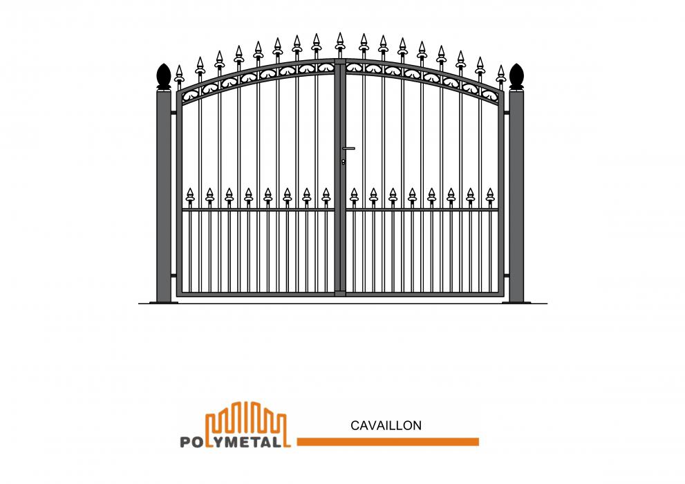 DOUBLE GATE CAVAILLON