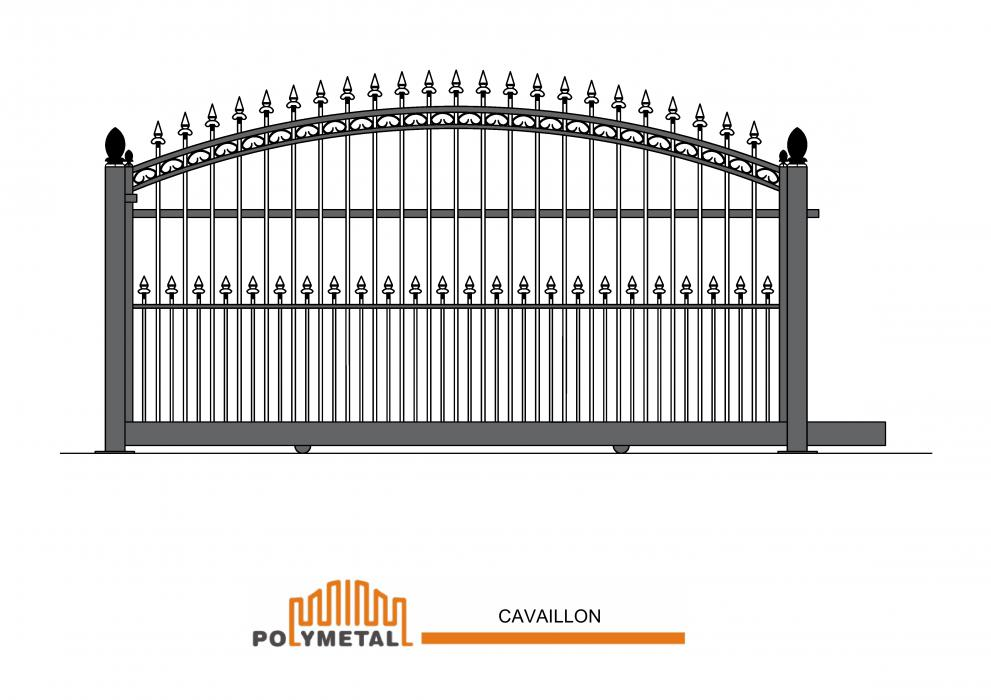 SLIDING GATE CAVAILLON