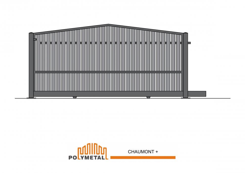 SLIDING GATE CHAUMONT +