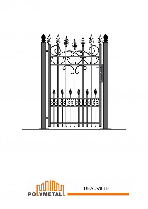 SINGLE GATE DEAUVILLE