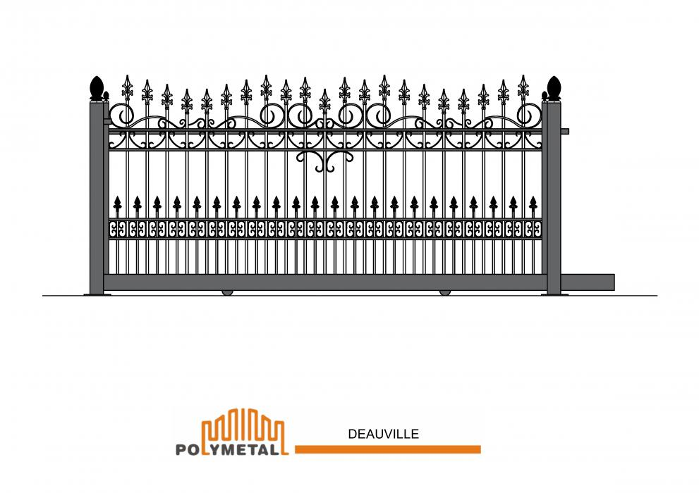 SLIDING GATE DEAUVILLE