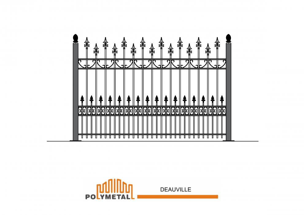 FENCE DEAUVILLE
