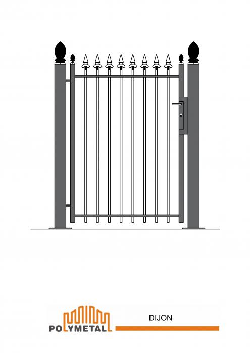 SINGLE GATE DIJON