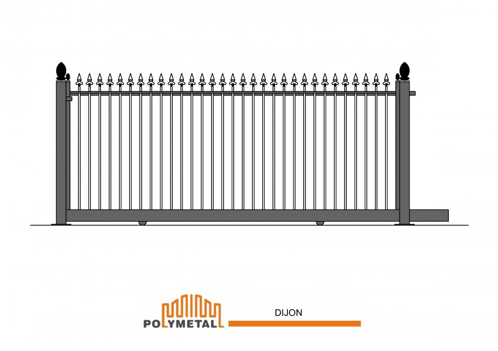 SLIDING GATE DIJON