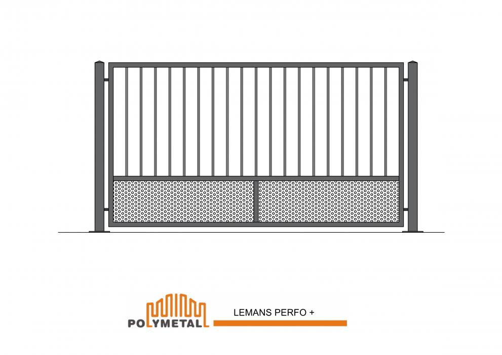 FENCE LEMANS PERFO +