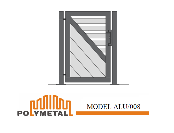 SINGLE GATE MODEL ALU/008