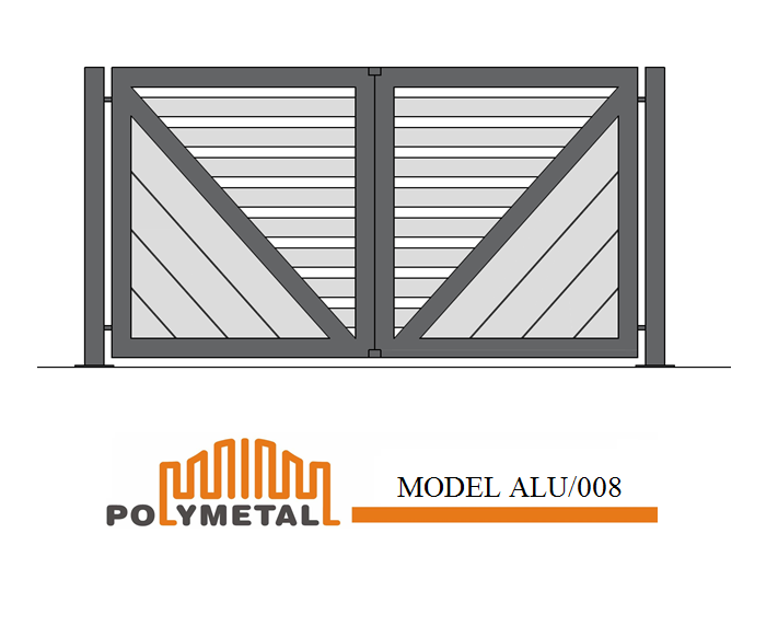 DOUBLE GATE MODEL ALU/008