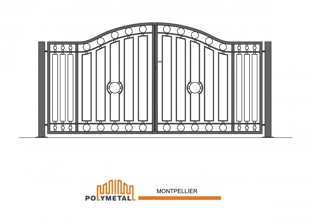 DOUBLE GATE MONTPELLIER