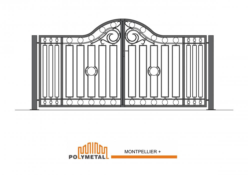 DOUBLE GATE MONTPELLIER +