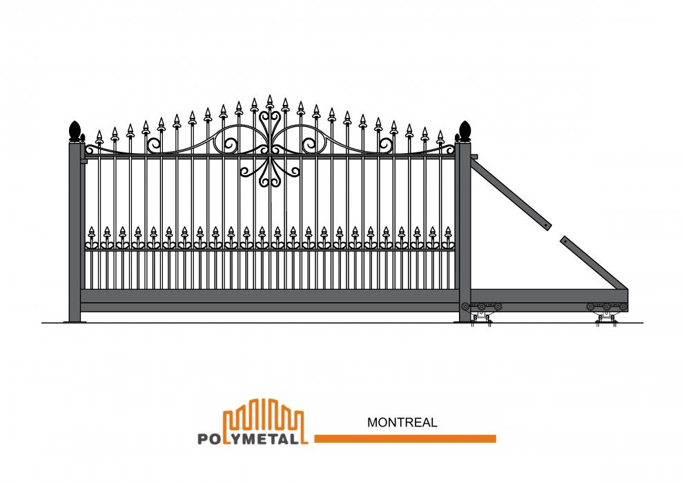 CANTILEVER GATE MONTREAL