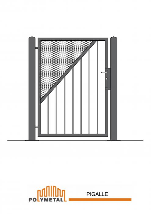 SINGLE GATE PIGALLE