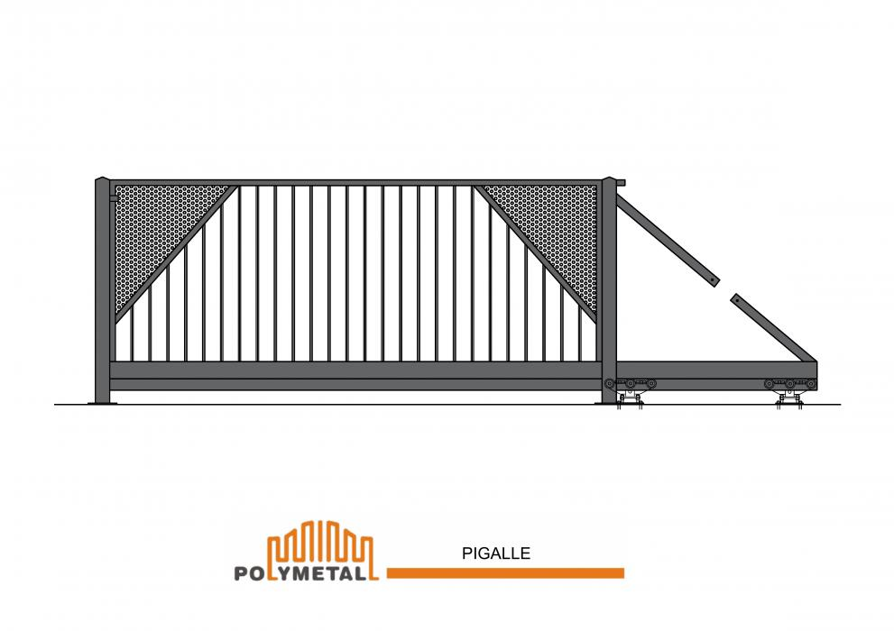 CANTILEVER GATE PIGALLE