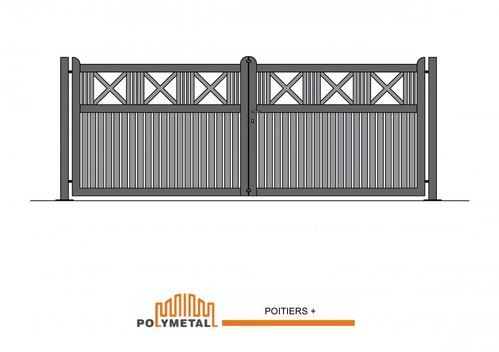 DOUBLE GATE POITIERS +