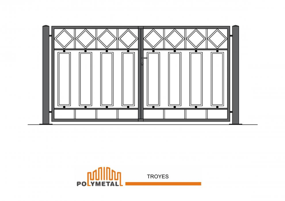 DOUBLE GATE TROYES